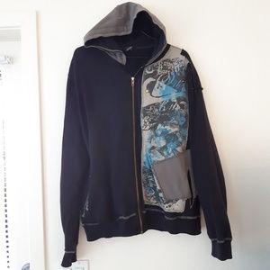 QUICKSILVER men's hoodie sz Large